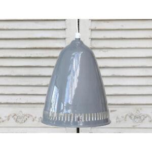 Hängelampe Lampe Metall Chic Antique grau 21 cm Landhaus Shabby Pendellampe NEU