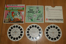 The Woody Woodpecker Show 1964 Viewmaster Reels Set B508 Rare (412)