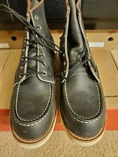 Red Wing Classic Moc Toe 8890 Charcoal Rough & Tough Leather