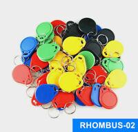 125khz Rewritable T5577 Multiple colors Rfid tag/keyfob for access control/50pcs