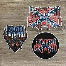 Lynyrd Skynyrd Vinyl Sticker Set - Free Shipping