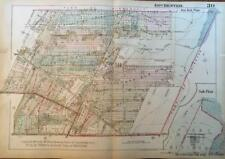 1926 BROWNCROFT ROCHESTER NEW YORK PALMERS GLEN TYRON PARK ATLAS MAP