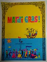 Guy Lombardo presents MARDI GRAS! - SOUVENIR PROGRAM - 1961 Jones Beach Theatre