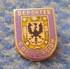 CLUB DEPORTES CONCEPCION CHILE FOOTBALL FUSSBALL SOCCER 1990' ENAMEL BROOCH PIN