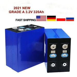 4pcs 3.2V320Ah Lithium iron phosphate cell RV Solar Energy Storage battery Pack