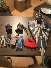 Hasbro Star Wars Clone Wars Plo Koon Jedi Starfighter With 8 Figures Lot