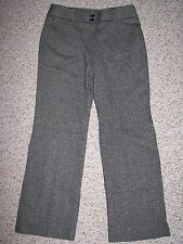 ANN TAYLOR WOMEN'S MARGO STRETCH LINED WOOL BLEND TWEED DRESS PANTS 6 INSEAM 30