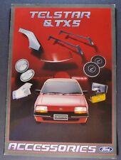 1984 Ford Telstar TX5 Accessories Brochure Excellent Original 84 Australian