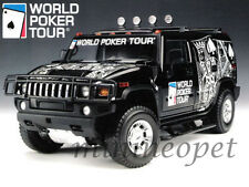 HIGHWAY 61 19001 HUMMER H2 SUV WORLD POKER TOUR 1/18 DIECAST BLACK