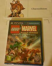 Lego Marvel Super Heroes Psv Nuevo Sellado Inglaterra PAL Sony Playstation Vita Ps Vita