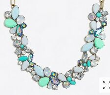 Sold Out! New$59.50 Neon Seamist J Crew Factory Mixed Stones Necklace!