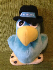 """BARCLAYS BANK 9"""" PARROT MONEY BOX - MADE BY FURRYTAILS - LOVELY CONDITION"""