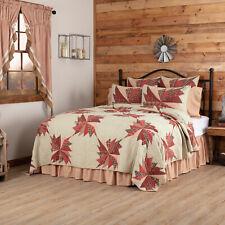 VHC Rustic Ozark Quilt Blanket Bedspread King Queen Twin Cotton Patchwork