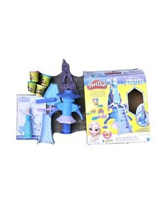 Play-Doh Disney Frozen Enchanted Ice Palace Playset Complete HTF