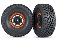 TRAXXAS 8472 Gomme e cerchi Unlimited/TIRES AND WHEELS ASSEMBLED
