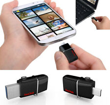 SANDISK 16GB Ultra Dual FLASH DRIVE PEN MEMORY STICK per Telefoni Android Tablet