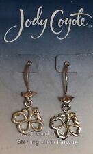Jody Coyote Earrings JC1011 New E809 silver dangle