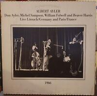 Albert Don Ayler Lörrach Paris 1966 2-LPs Hat NM/EX FAST SHIP FROM USA