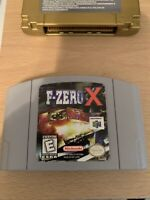 F-Zero X Nintendo 64 1998 Cart Only Authentic And Tested