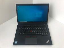 Lenovo ThinkPad T460s  i5-6300u 4GB 240GB SSD W10 Pro FHD Webcam LTE Mwst #68