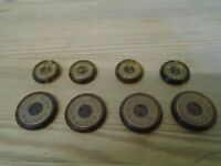 NAVAL & MARITIME  BUTTONS, ROYAL NAVY CORPS