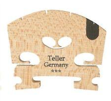 Full Size 4/4 violin bridge with ebony insert Made in Germany