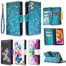 New Women Magnetic Flip Leather Wallet Card Holder Strap Stand Holder Case Cover