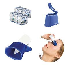 Can-C Eye Drops 6 Pack 12 x 5ml Vials with Eye Drop Guide Bundle