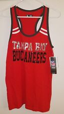 SEXY Womans NWT Official TAMPA BAY BUCCANEERS NFL Team Apparel TankTop Medium