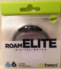 Breo Roam Elite Digital Watch Med. Silicone Strap Water Resist. 5 ATM RRP £14.99