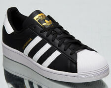 Adidas Originals Superstar Vegano Hombre Negro Oro Blanco Lifestyle Zapatillas