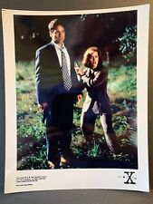 X-Files Creation Colour 10x8 Photo - Mulder DUCHOVNEY & Scully ANDERSON - C