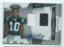 2010 Certified Armanti Edwards DUAL JERSEY RELIC AUTO AUTOGRAPH RC /699 PANTHERS