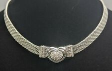Swarovski ~ Choker Heart Necklace