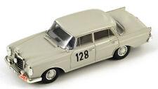Spark Model S1004 Mercedes 220 SE N.128 Winner Monte Carlo Rally 1960 Schock/mol