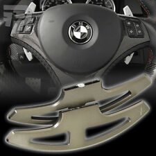 BMW 3-SERIES E90 E92 E93 M3 GRAY ALUMINUM DCT SHIFTER PADDLE DUAL CLUTCH ▼