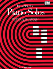 """Beginning Piano Solos"" 132 Original Masterpieces-Music Book-Brand New On Sale!"