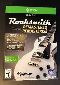 Rocksmith 2014 Edition Remastered Bundle Pack W/ Real Tone Cable (XBOX ONE) NEW