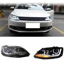 For Volkswagen Jetta MK6 2012-2015 Auto Headlights Replacement LED DRL Retrofit