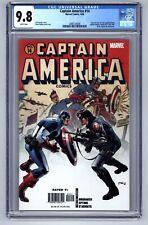 Captain America # 14 (2006) CGC 9.8 - Origin of Winter Soldier - Brubaker