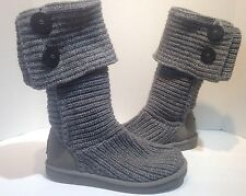 ugg cardy knit button boots Size 7