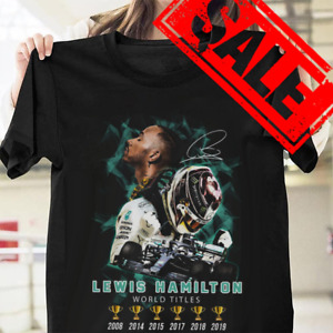 Lewis hamilton world titles Unisex T-shirt