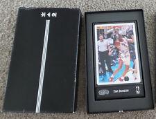 Tim Duncan Auto Signature Adidas Authentic Memorabilia Photo Limited /100 RARE