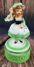 Vintage Music Box Sankyo Japan Pretty Girl Lullaby Daughter Niece Gift Present