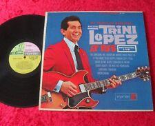 Trini Lopez LP More Trini Lopez at PJ's (Erstpressung 1963 REPRISE) USA