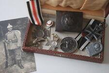Konvolut Militaria Orden, Anstecknadeln,Koppel 1.WK Deutsches Reich Ehrenzeichen