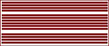 1/8 INCH (.125) VINYL PEEL STICK HO SCALE STRIPES STRIPE DARK RED DECALS