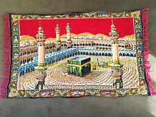 Mecca Mosque Islamic Wall Hanging Prayer Carpet Masjid Al-Haram – ExC