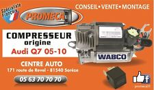 AUDI Q7 05-15 COMPRESSEUR SUSPENSION ORIGINE WABCO 4L0698007
