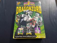 1993 Bandai Mighty Morphin Power Rangers DRAGONZORD & GREEN RANGER 2270
